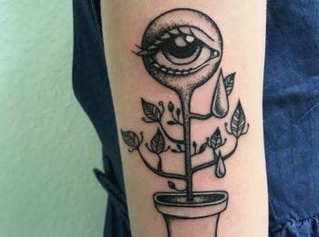 Tattoo Pflanze Permanent Art