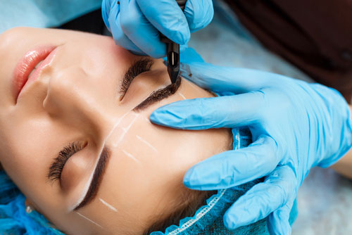 Augenbrauen-Vermessung-Permanent-Make-Up