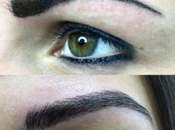 vorher Nachher Augenbrauen