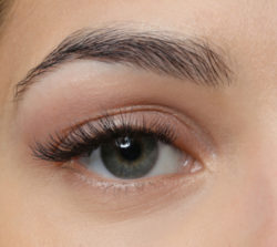 Augenbrauen Vorher